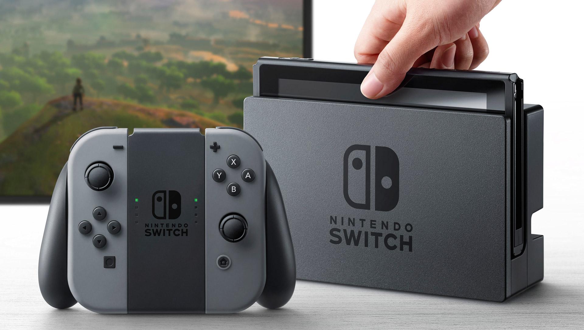 Znalezione obrazy dla zapytania nintendo switch