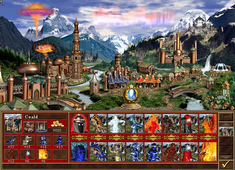 Znalezione obrazy dla zapytania heroes III armageddon blade
