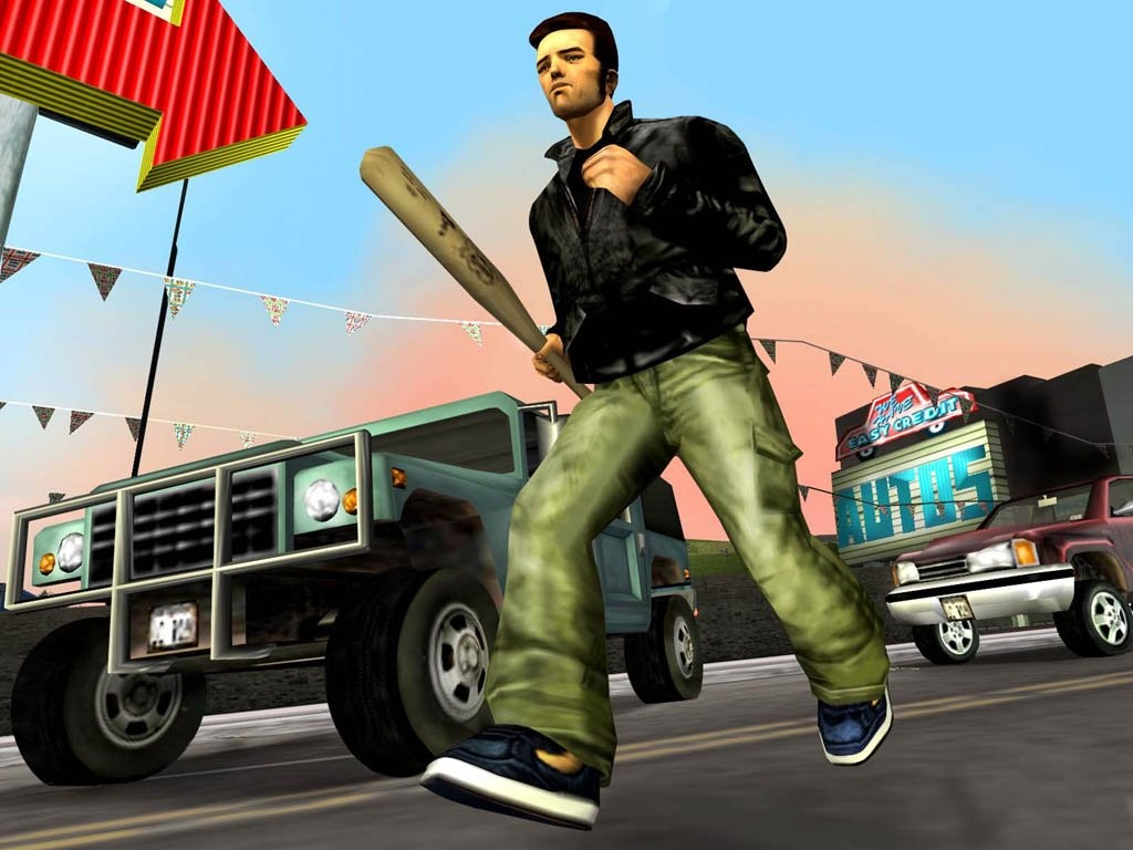 Фото игры GTA III.