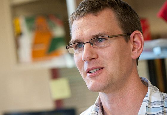 Docent Ingmar Riedel-Kruse <i>(foto: Riedel-Kruse Lab, Stanford University)</i>