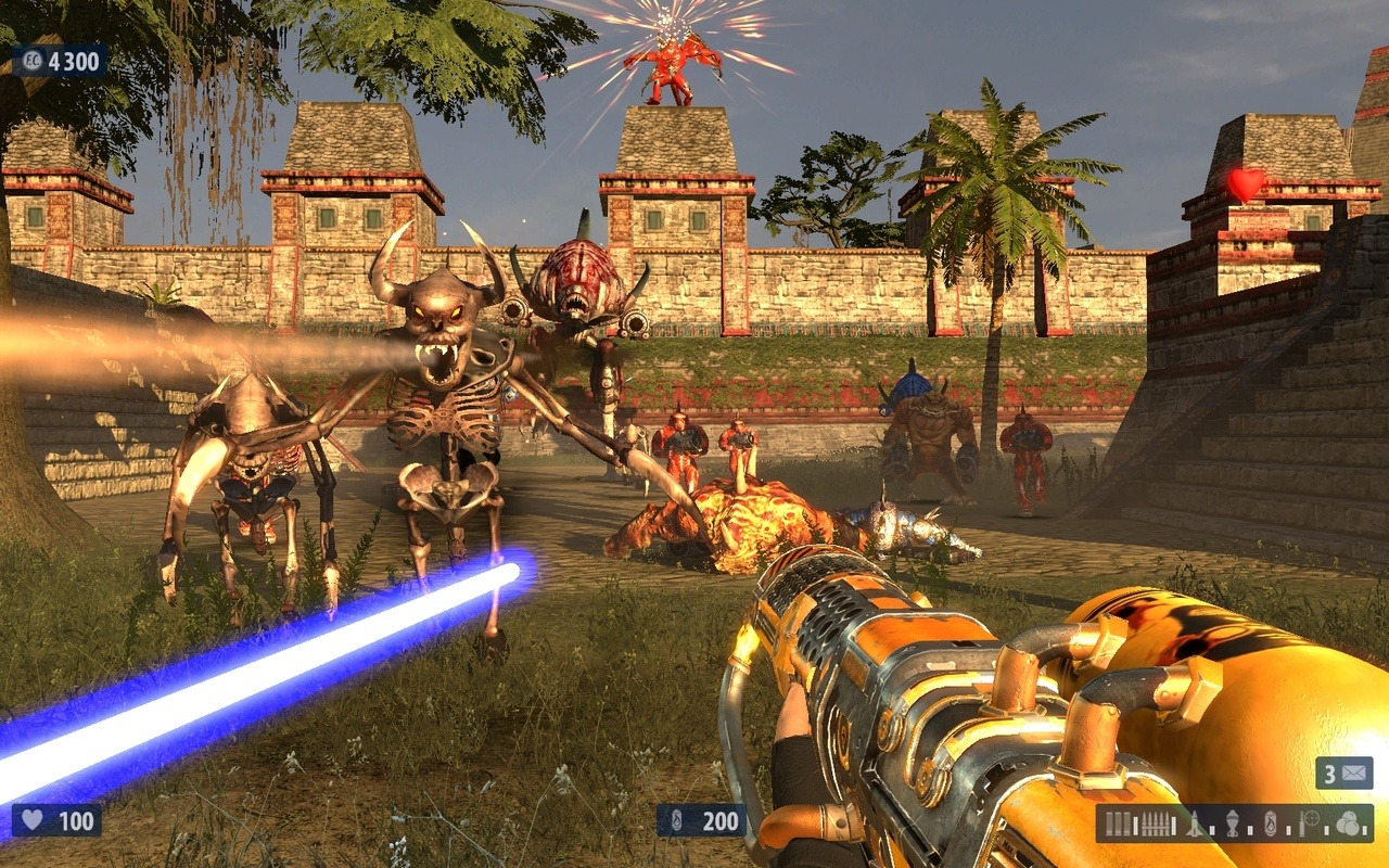 serious sam drugie starcie download pl
