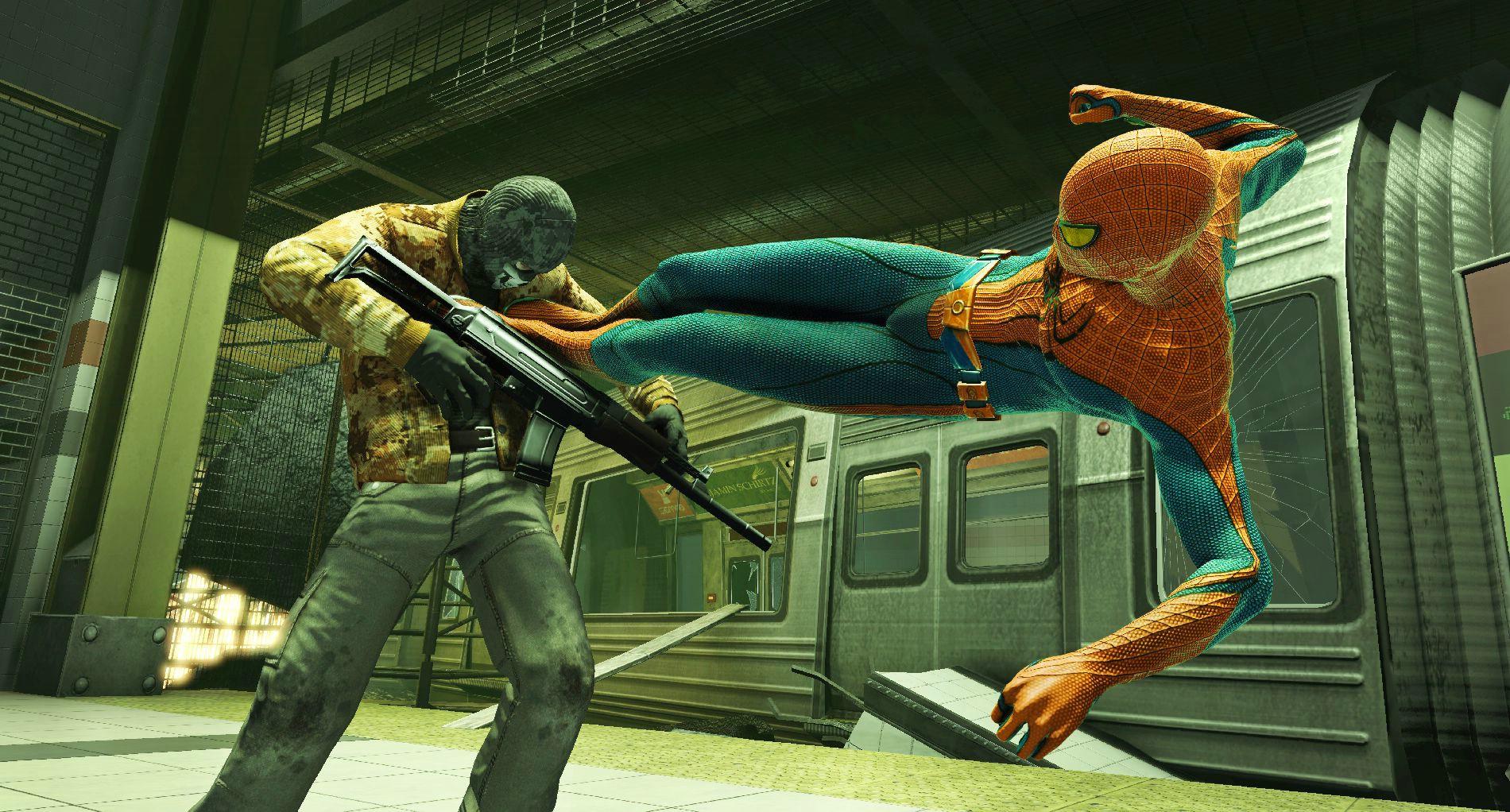 Cкачать Новый Человек-паук / The Amazing Spider-Man (2012/Rus/Eng/Ger