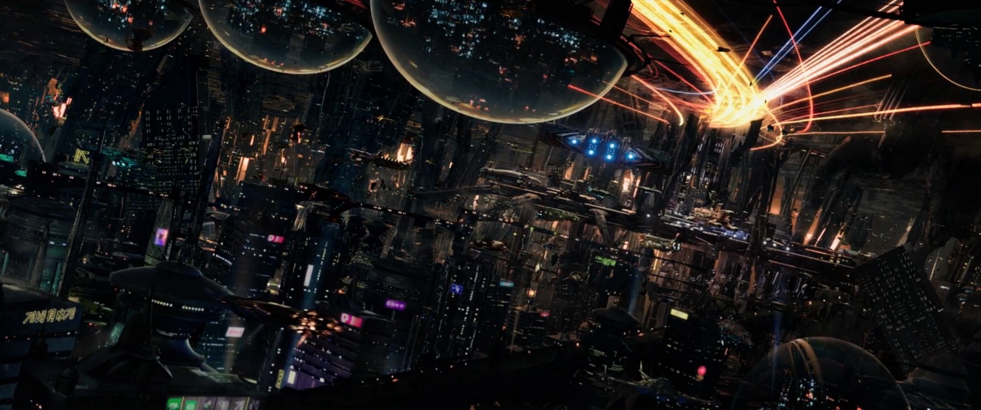 paintings planets and cities - photo #28
