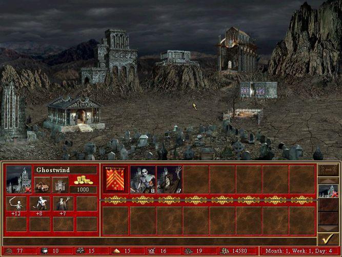Скриншот к игре «Герои Меча и Магии 3: Клинок Армагеддона&raq