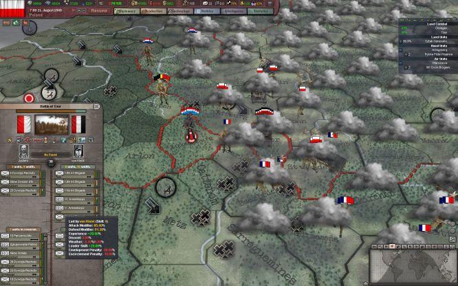 W sierpniu 1940 roku lało tak bardzo, że aż spłukało Francuzów z Linii Maginota na teren Niemiec
