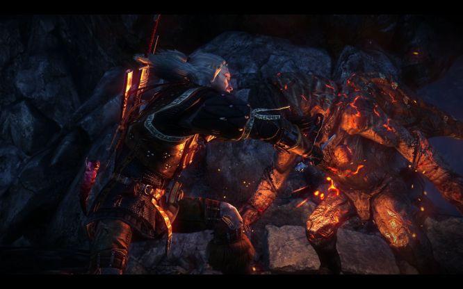 <b>Wiedźmin 2: Zabójcy Królów</b> - tak, to obrazek zrzucony podczas recenzowania gry, żaden promocyjny render...