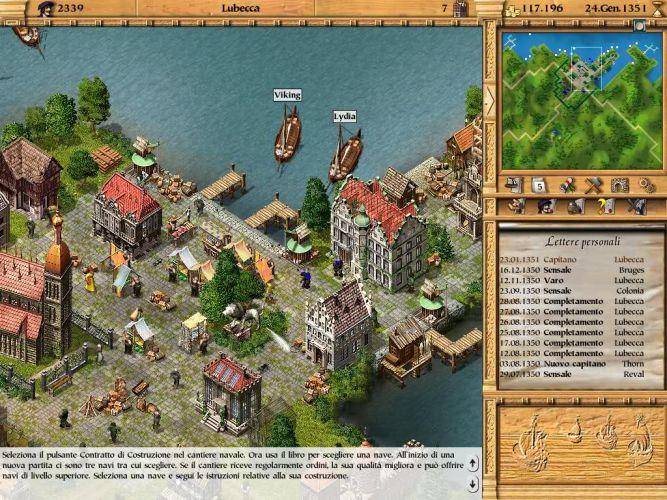 <strong>Patrician II: Quest for Power</strong> - tym razem nie ograniczono się jedynie do niemieckiej i angielskiej wersji gry