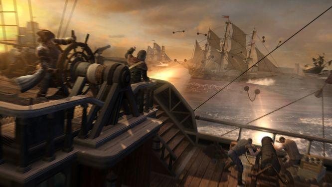 Bitwa morska w Assassin's Creed III