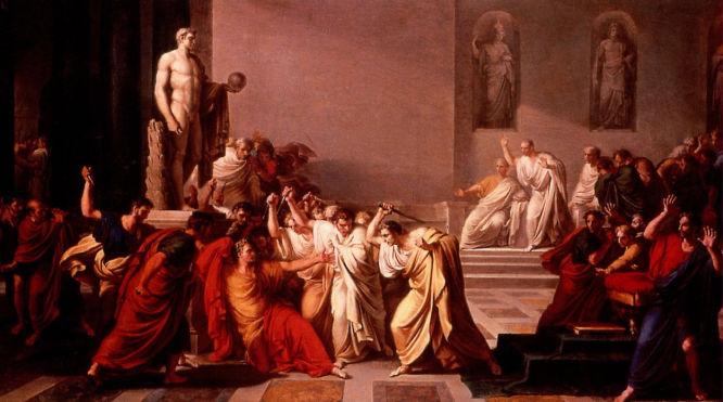 Juliusza Cezara Śmierć Juliusza Cezara