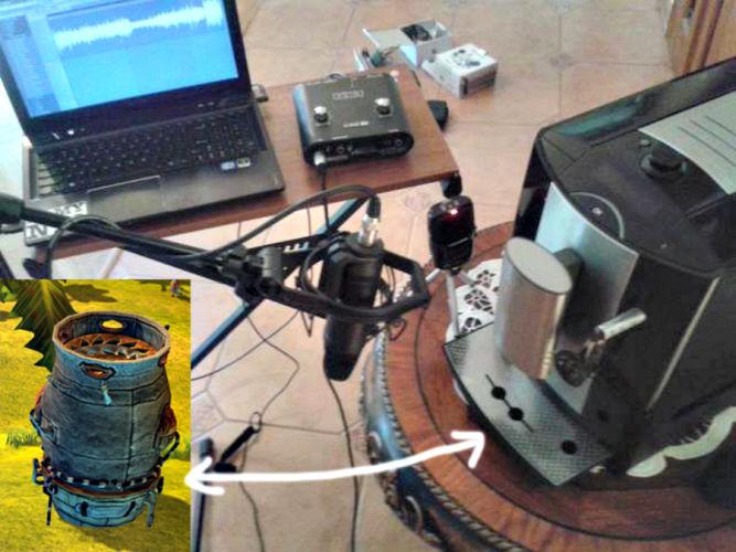 Kosmiczne technologie swoje brzmienie często zawdzięczają przedmiotom codziennego użytku