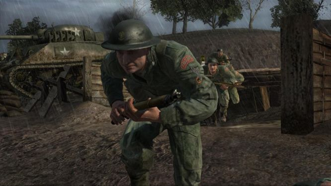 Polscy żołnierze pod Falaise w Call of Duty 3