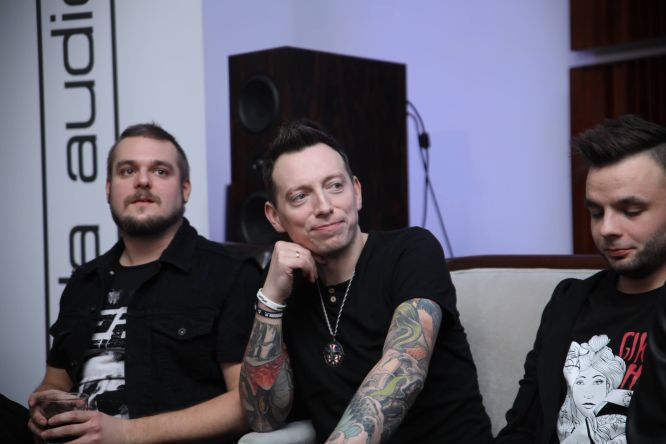 Trzej gracze - od lewej: Robert Kazanowski, Arek Majstrak, Artur Żurek (foto: Marcin Jaśkaczek)