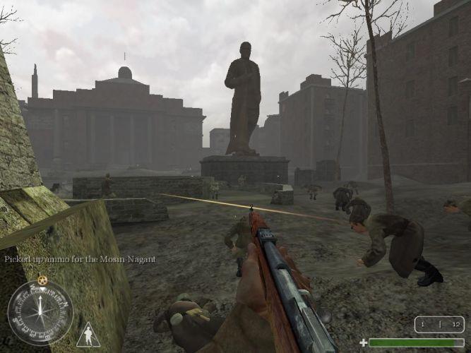 Plac Czerwony w Stalingradzie w Call of Duty