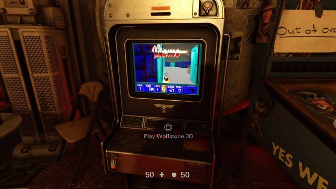 Na automacie można zagrać w całego oryginalnego Wolfensteina!