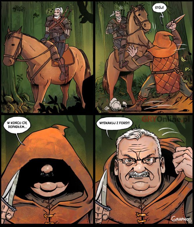 Autor: Graphos - komiks wykonany dla naszej szacownej konkurencji Gry-Online